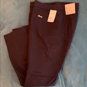 H & M navy slim slacks